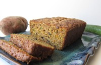 Zucchini and Sweet Potato Bread