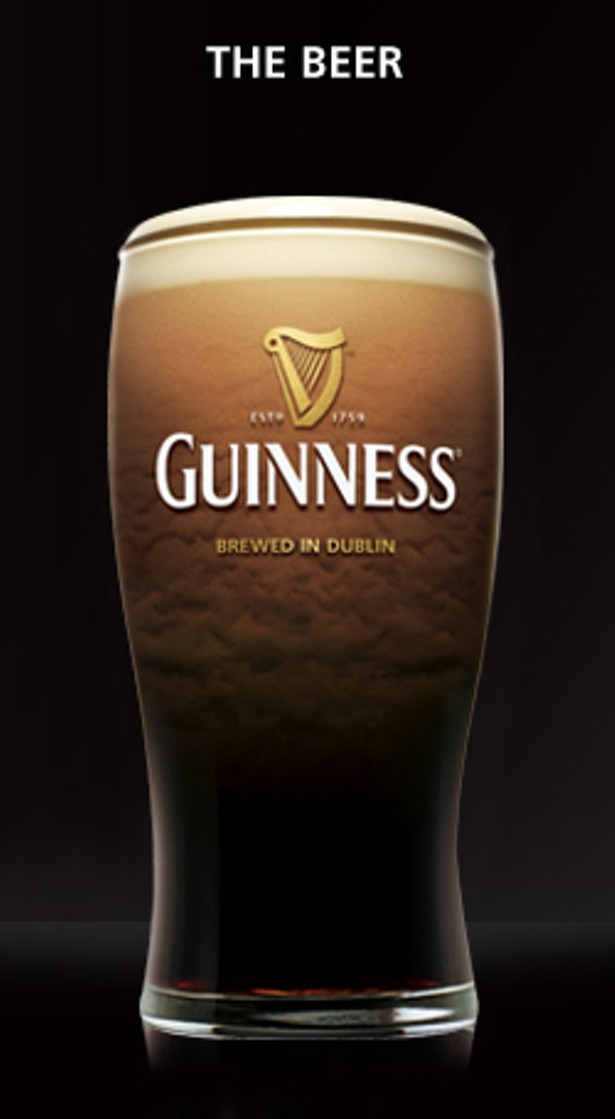 Draught Guinness Glass S