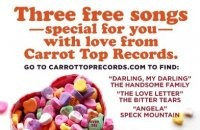 2/14 -- Free downloads from Carrot Top Records