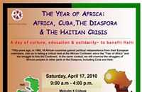 4/17 — Cultural Event at Malcolm X College Benefits Haiti Relief