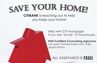 8/27-8/28—Free Mortgage Assistance from Citibank