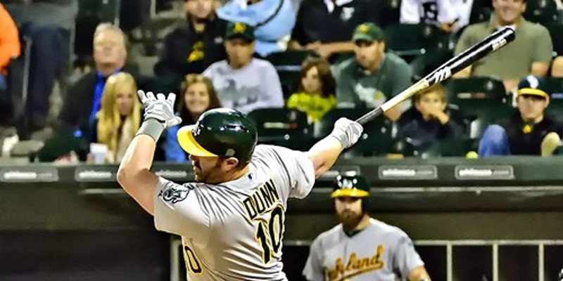 A final majestic swing by Adam Dunn in the ninth last night, with the usual result.