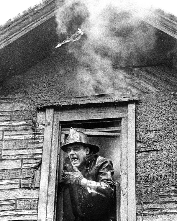 A fireman shot on assignment for the Sun-Times