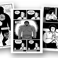 A graphic novel grapples with Andre the Giant