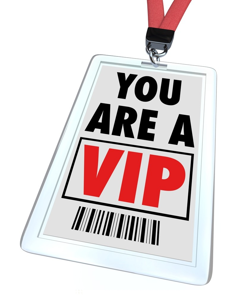 VIP photo from Shutterstock