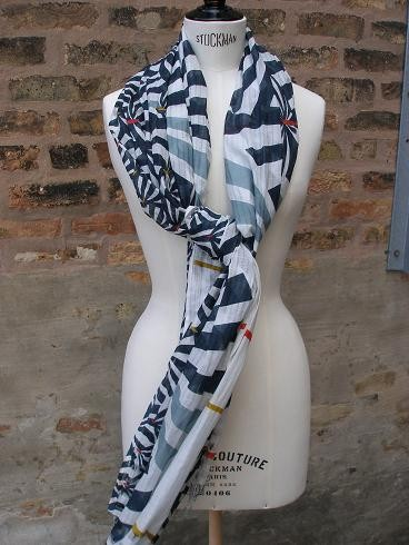 A scarf by Epice, one of the labels featured at Tulas Summer Accessories Bazaar this weekend.