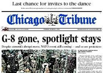 G-wait: Is Chicago out of the spotlight, or what?