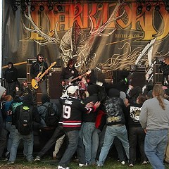 A shot from Eyehategod's set at last year's Dark Lord Day