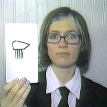 A still from Agency Headquarters: Agency Pattern Recognition Cards by Franklin Pollard