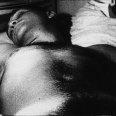 A still from Warhol's Sleep or the latest ad for Showplace ICON?