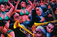A touring exhibit of work by Archibald Motley is a visual feast—and a revelation