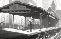 Oscar-nominated animated shorts: Veteran Pixar animator John Kahrs's 2-D <em>Paperman</em>