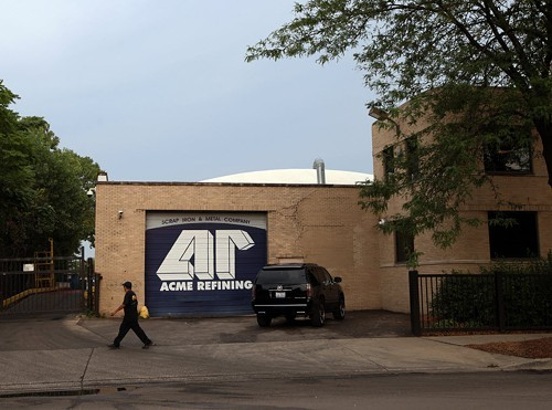 Acme Refinings Bridgeport headquarters.
