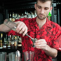 Danny Shapiro of Scofflaw makes a Poopsicle Add lime juice. Andrea Bauer