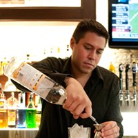 Karl Fernandez makes the Cheese Course Add three-quarters of an ounce of Stoli Sticki Andrea Bauer