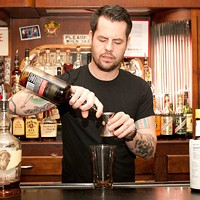 Bradley Bolt of Bar DeVille makes the Blind of Eye Add to that half an ounce of Lemon Hart 151 demerara rum. Andrea Bauer
