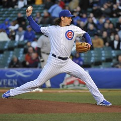 Against the White Sox last week, Jeff Samardzija went nine innings, gave up no earned runs, and scored the Cubs' only run. He did everything but win.