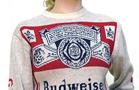Beer that you wear, if you're lucky