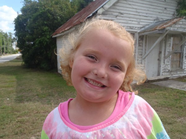 Alana Thompson (aka Honey Boo Boo)