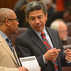 Alderman Danny Solis still can't explain where $140,000 for arts and culture projects disappeared to.
