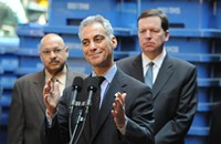 Alderman Joe Moore explains his choice of beer and support for Rahm
