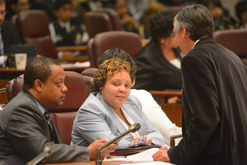 Alderman Natashia Holmes has some challengers in the 7th Ward