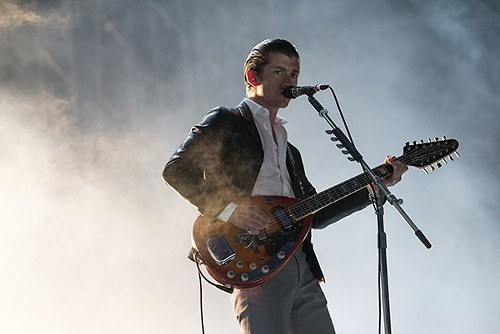 Alex Turner of Arctic Monkeys