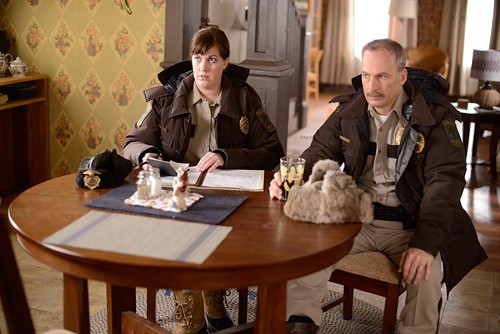 Allison Tolman and Bob Odenkirk on the not-really-an-adaptation Fargo