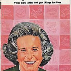Alma Lach on a 1980s newspaper supplement cover
