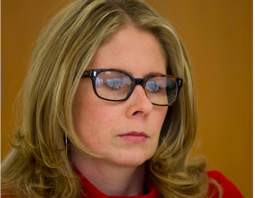 Alyx Pattison, a candidate for alderman in the Second Ward, says the parking meter was a horrible idea, though it made her former law firm a good chunk of money.