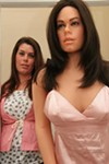 Amber Hawk Swanson and Amber Doll