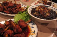 And now, Korean fried chicken
