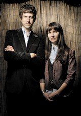 Andrew Kenny and Leslie Sisson of Wooden Birds