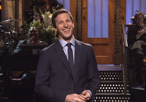 Andy Samberg hosted Saturday Night Lives finale.
