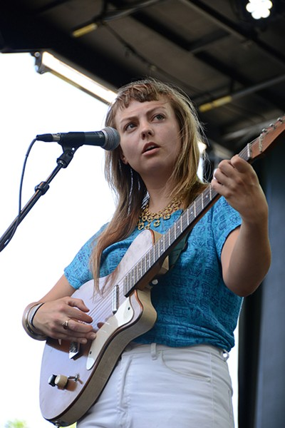 Angel Olsen Alison Green Pitchfork Music Festival 2013