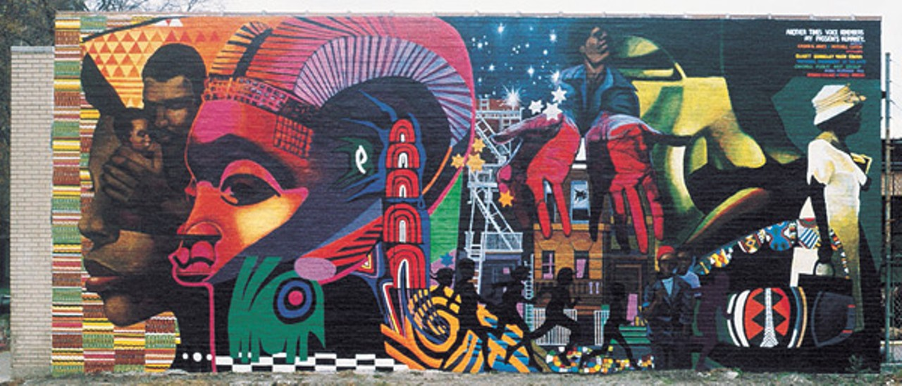 An artist 39 s homecoming feature chicago reader for Chicago mural group
