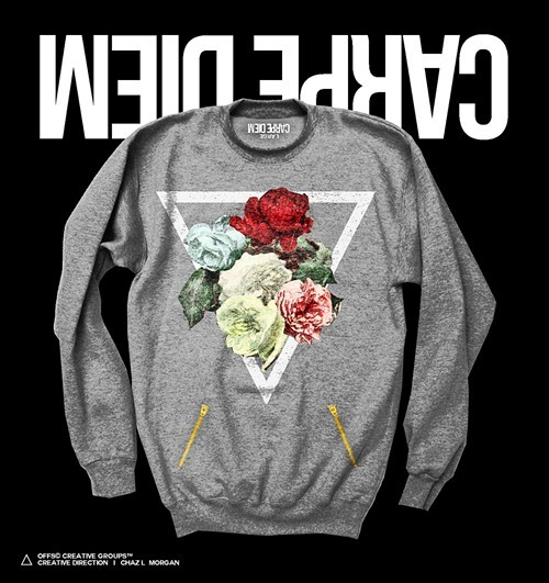 Apparel Reserves Carpe Diem Power crewneck