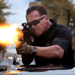 Armed to the teeth and led by Arnold Schwarzenegger