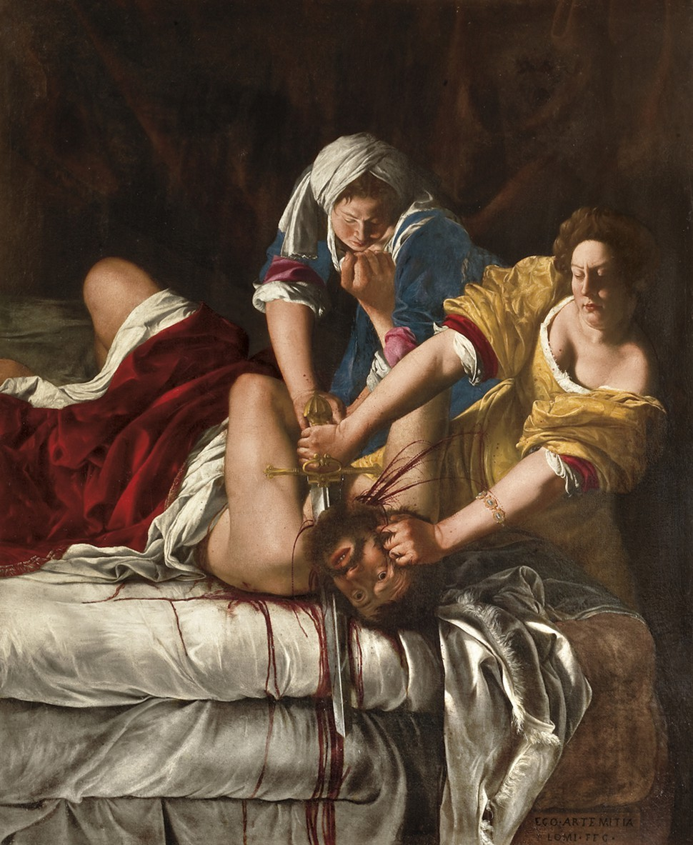 Image result for Judith Slaying Holofernes