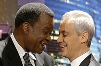 As he seeks Wilson's runoff endorsement, Mayor Rahm has the willies