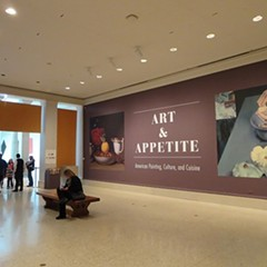 """At the Art Institute's new exhibit """"Art and Appetite,"""" you are what you paint yourself eating"""