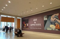 "At the Art Institute's new exhibit ""Art and Appetite,"" you are what you paint yourself eating"