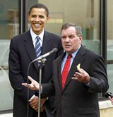 Barack Obama and Richard Daley in 2004. - TIM BOYLE / GETTY IMAGES