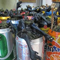 Beer-can pigeon: It's what's for dinner