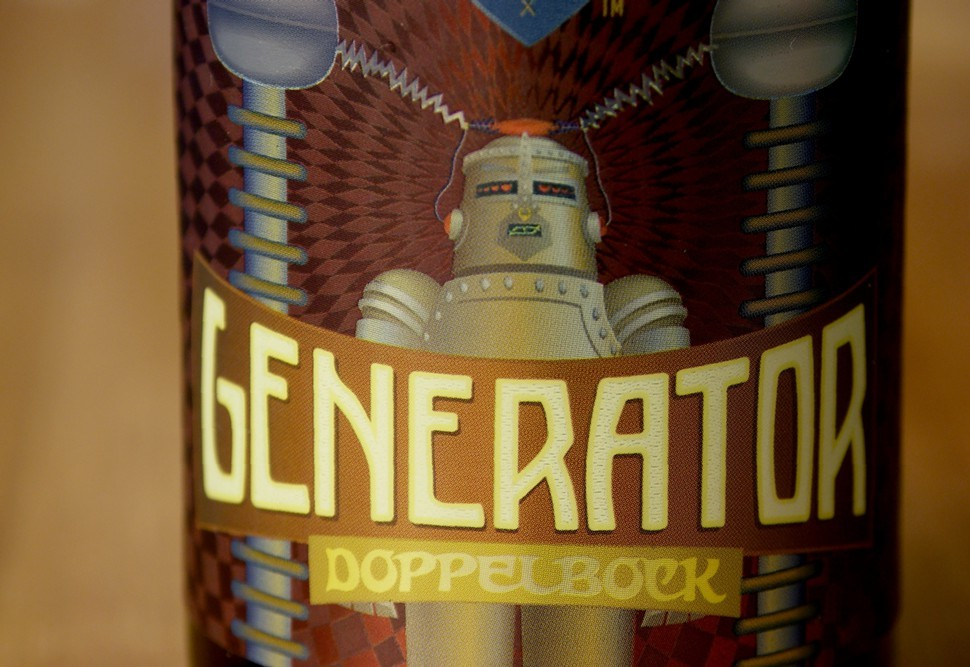 Beer maven and graphic designer Randy Mosher did Generators artwork.