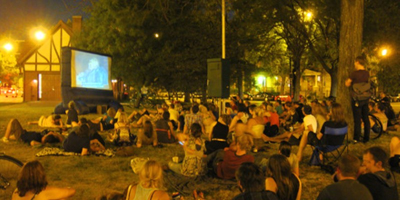 Best Outdoor Screening Series