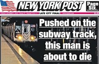 Would you have run this <i>New York Post</i> photo?