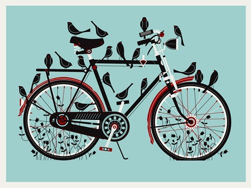 Birdcycle by Robert Lee