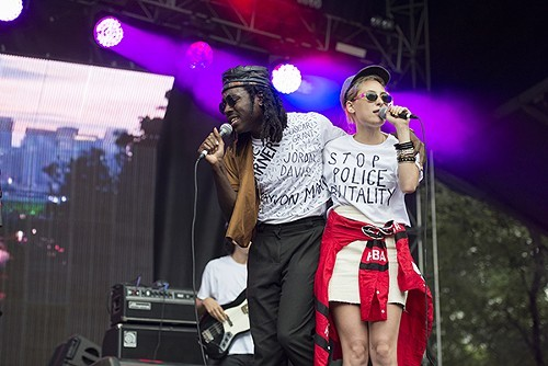 Blood Oranges Dev Hynes and Samantha Urbani