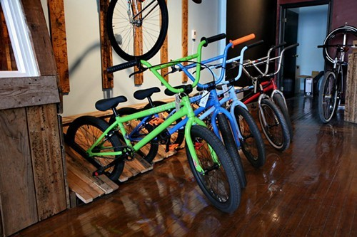 BMX bikes at Lets Roast